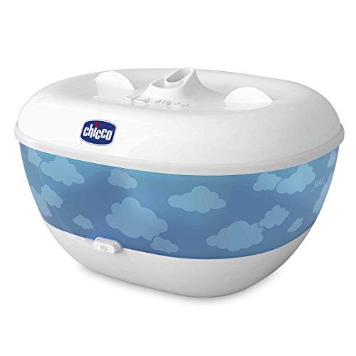 Chicco 5872 - Humidificador caliente, blanco y azul