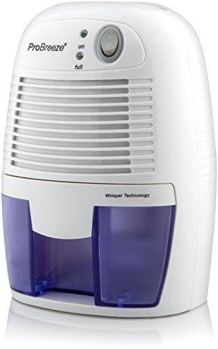 Deshumidificador Pro Breeze™ 500ml, portátil y muy compacto, excelente para protegrese de la humedad, el moho, tanto en habitaciones, baños y cocinas