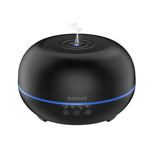 Dodocool 300ml de Vapor Frío, con difusor de Aromas, LED de 7 Coloresy 4 Modos de Tiempo