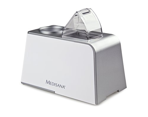 Medisana Minibreeze - Humidificador de viaje, color plateado
