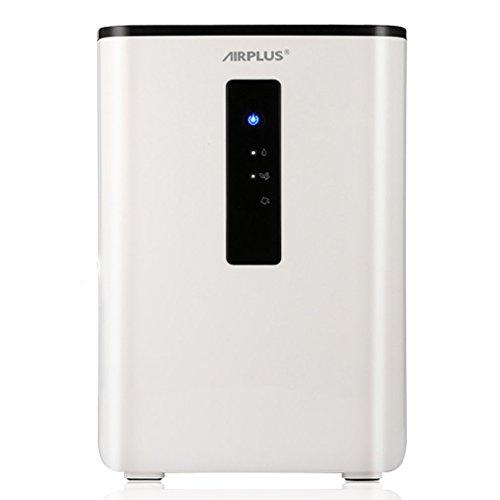 Deshumidificador de aire - AIRPLUS, Portátil Inteligente 2.5L 65W 110-240V, Deshumidificador de Aire Doméstico con Semiconductor Desecante de Aire para Absorber la Humedad y Purificar el Aire